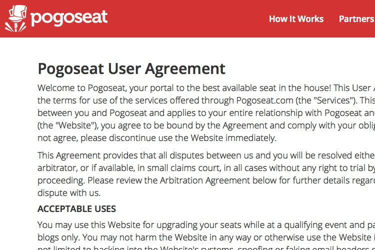 Screenshot of Pogoseat